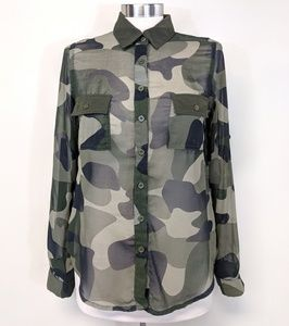 Tops - Camouflage Camp Shirt